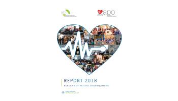 Academy of patient organizations (APO) Report