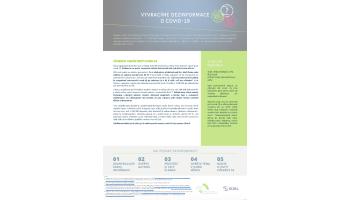 AIFP: Vyvracíme dezinfomace o covid-19: účinnost vakcín - ONE PAGER