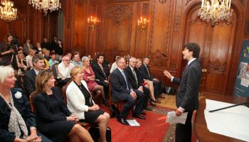 Absolventi Akademie pacientských organizací se setkali v americké rezidenci s novým americkým velvyslancem a s nejvýznamnějšími aktéry zdravotnické politiky