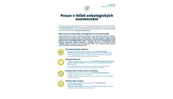 AIFP: Posun v léčbě onkologických onemocnění - one pager